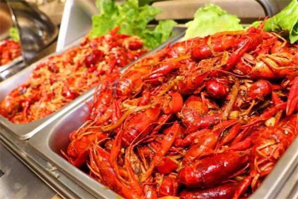 王宝和小龙虾自助餐多种